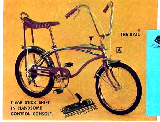 Vintage Huffy bikes for kids from 1968 (1)