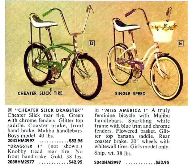 Vintage Huffy bikes for kids from 1968 (2)