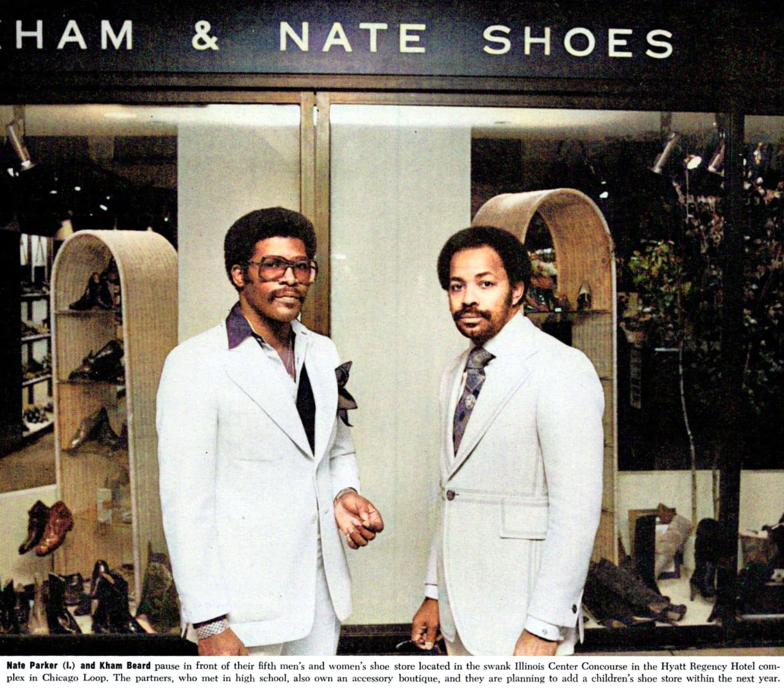 Vintage Illinois Kham and Nate shoe store in 1978 (2)