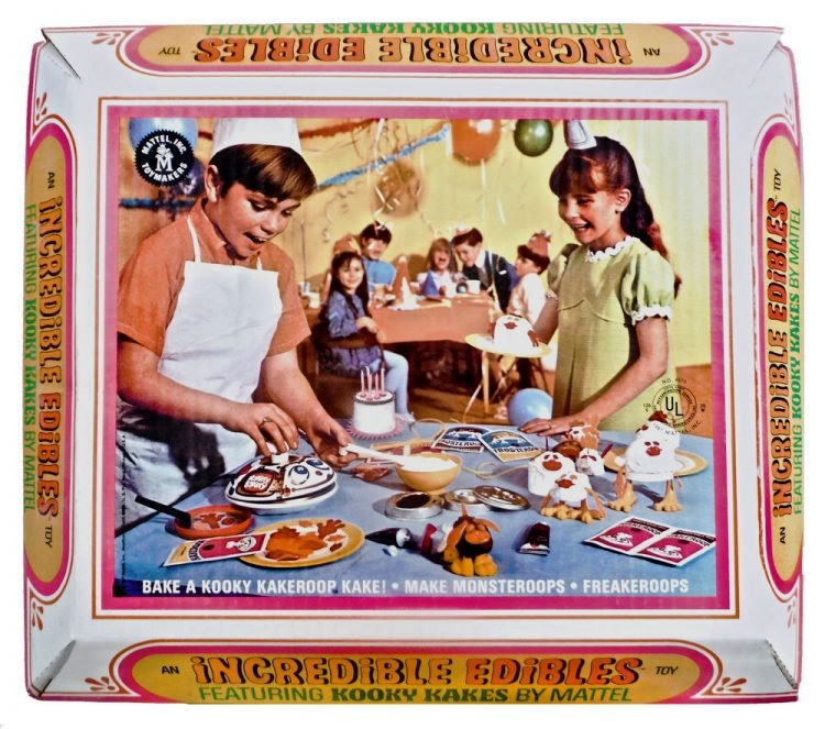 Vintage Incredible Edibles - Mattel toy box