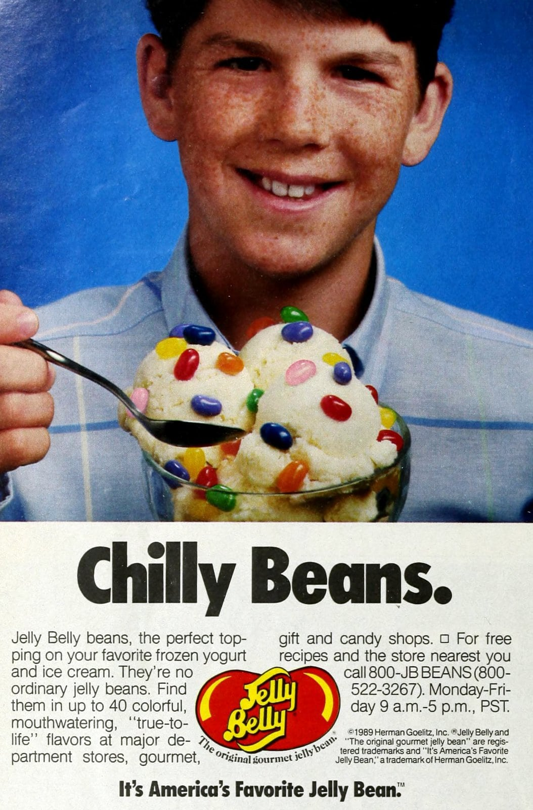 Vintage Jelly Belly flavors (1989)