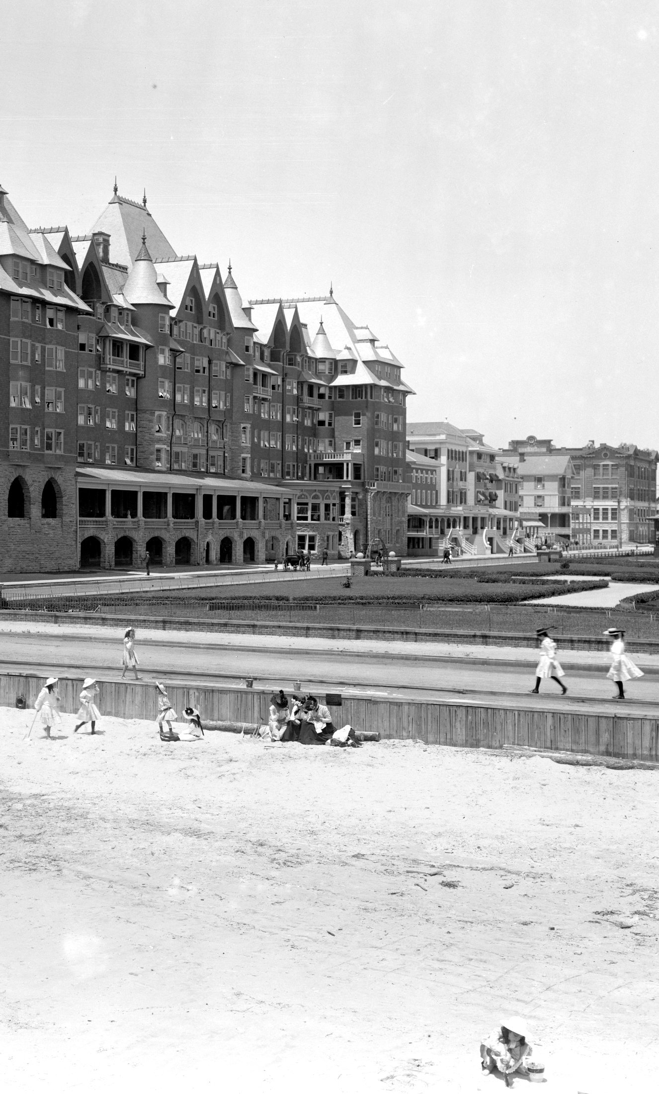 Vintage Jersey Shore beach scenes from the early 1900s (2)