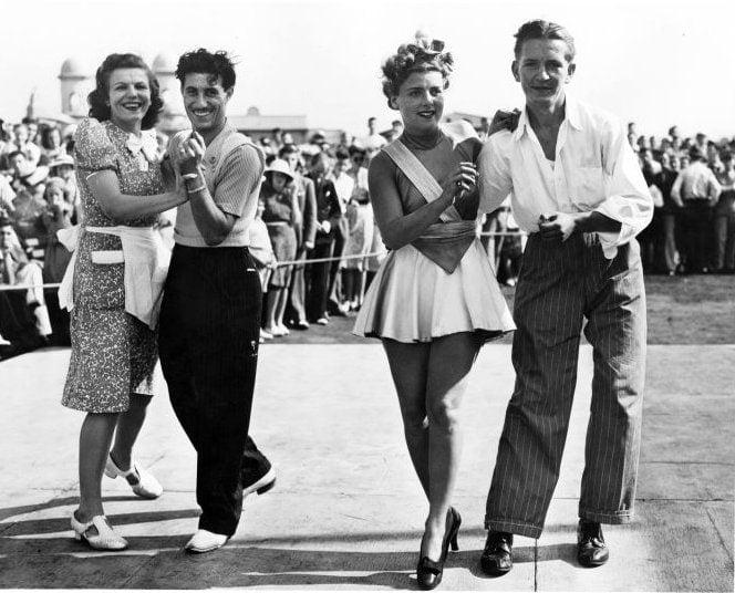 Vintage Jitterbug dancing from around 1939 - Via NYPL (3)