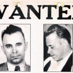 Vintage John Dillinger WANTED poster - FBI