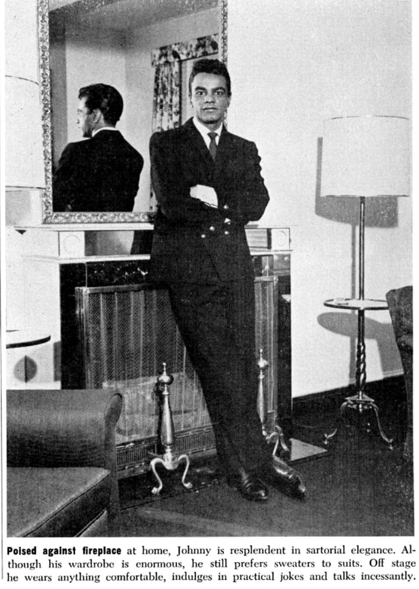 Vintage Johnny Mathis in 1965