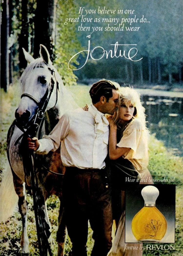 Vintage Jontue perfume by Revlon 1987
