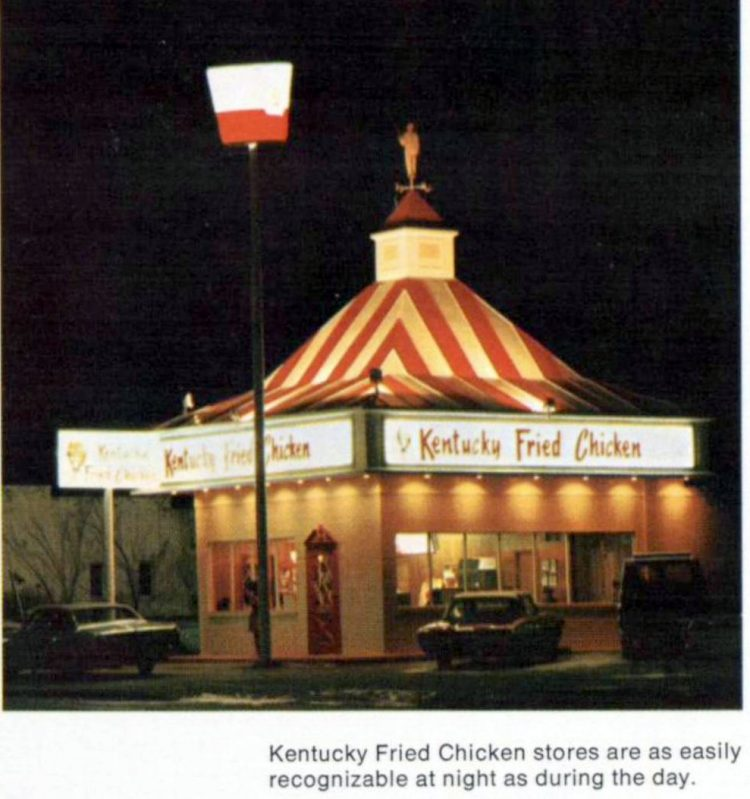 Vintage KFC Kentucky Fried Chicken -1960s (2)
