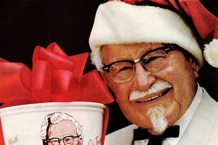 Vintage KFC for Christmas dinner - 1960s