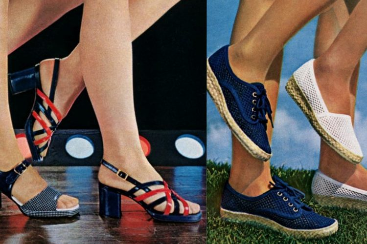 Vintage Keds Grasshoppers shoes for