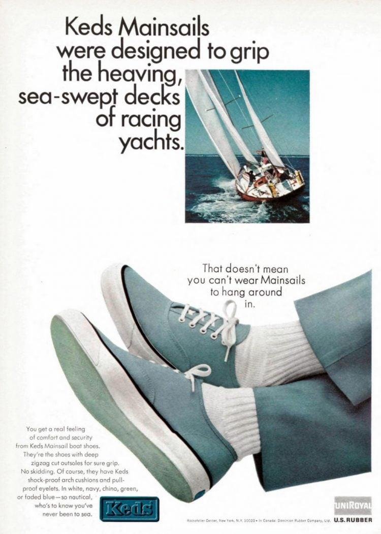 Vintage Keds Mainsail boat shoes (1965)