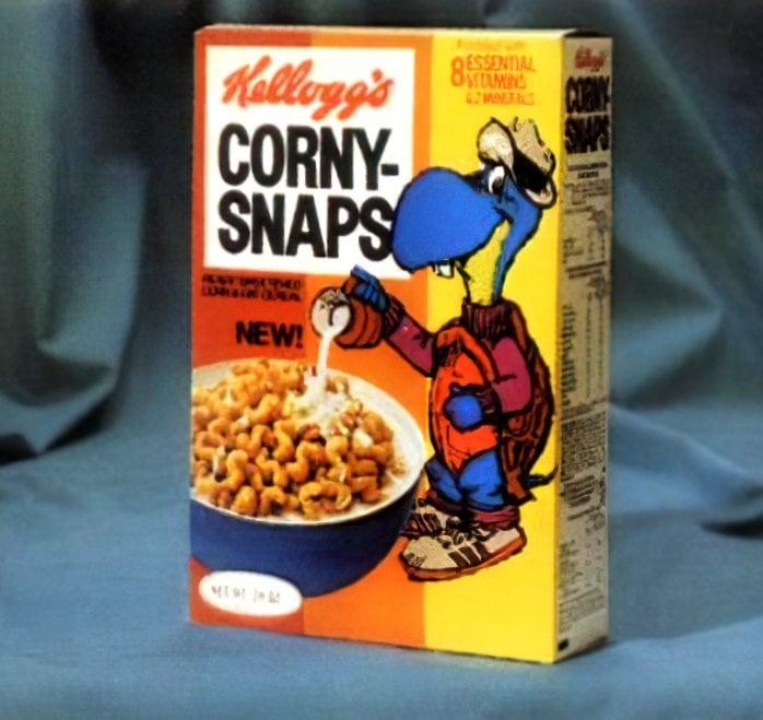 Vintage Kellogg's Corny-Snaps cereal (1975)
