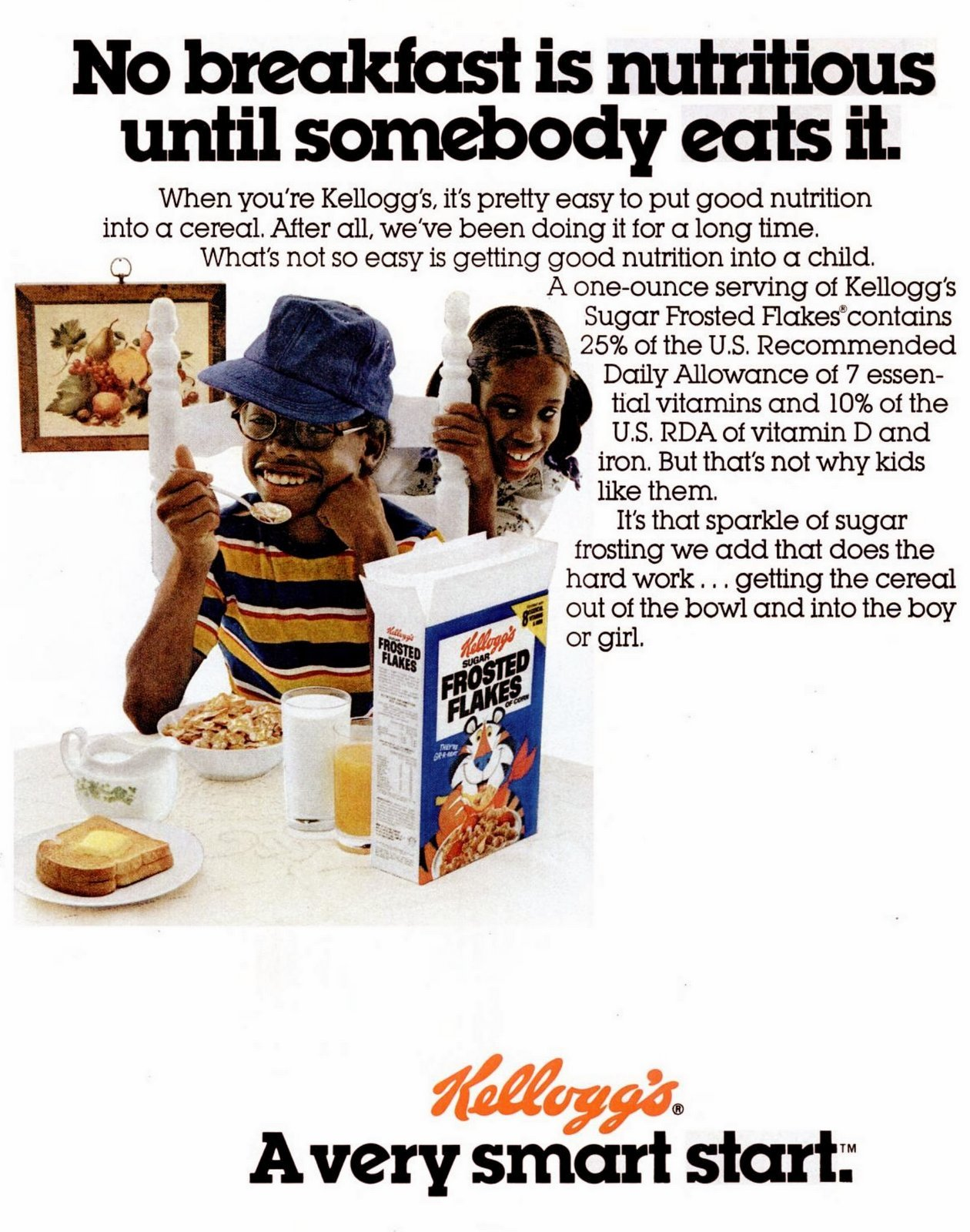 Vintage Kellogg's Frosted Flakes cereal (1978)
