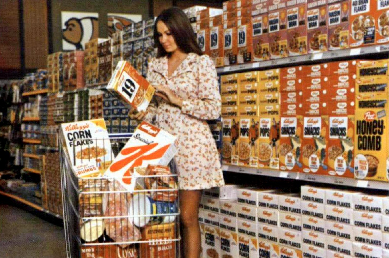 Vintage Kellogg's cereals (1973)