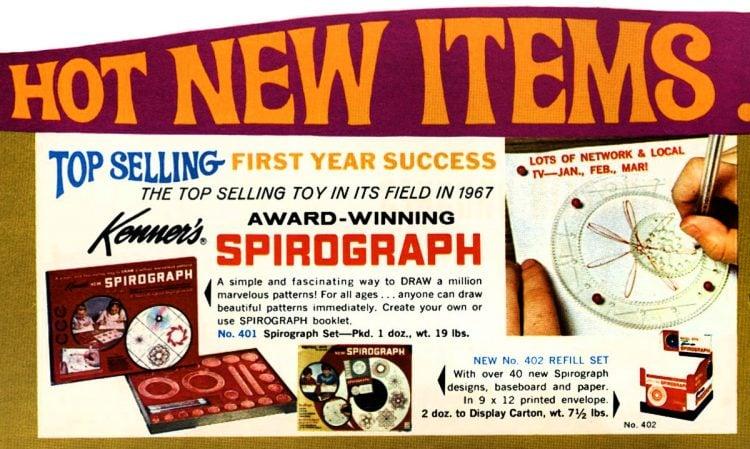 Vintage Kenner toys - Spirograph c1970