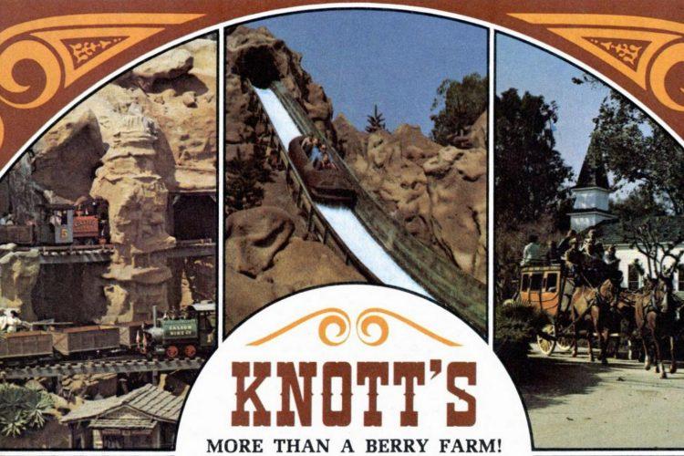 Vintage Knott's Berry Farm - Southern California amusement park