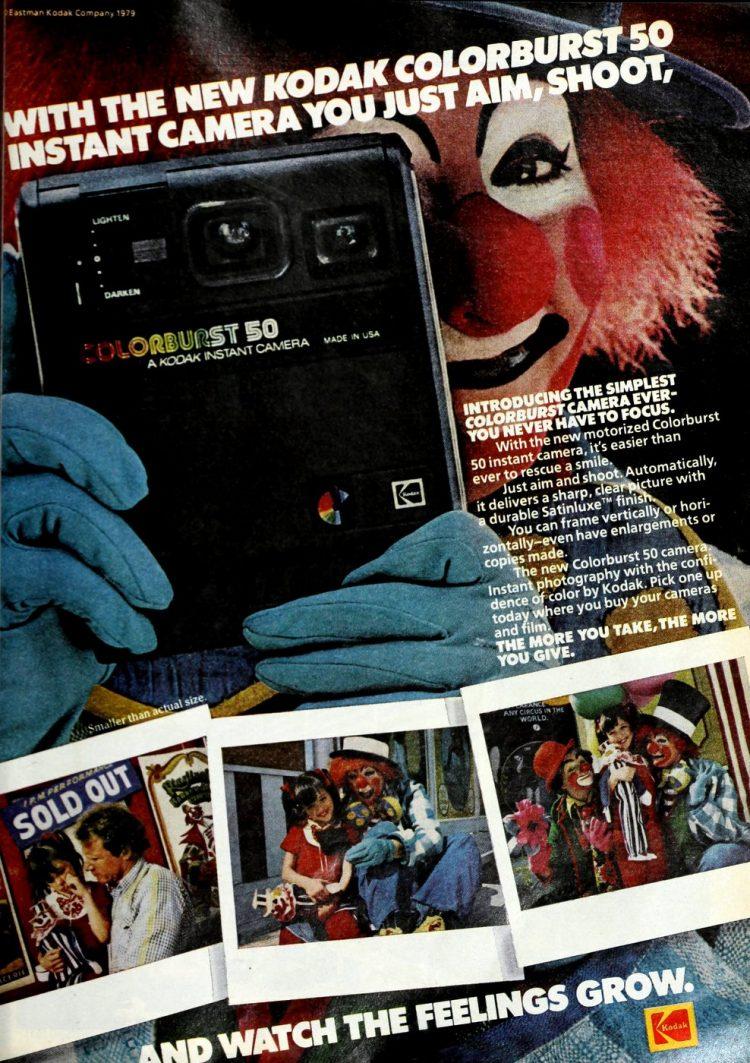 Vintage Kodak Colorburst 50 - 1979