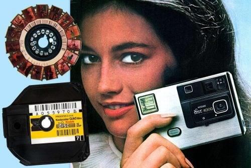 Vintage Kodak Disc camera film cartridge