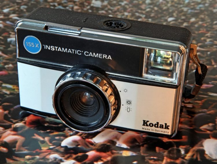 Vintage Kodak Instamatic camera 155X
