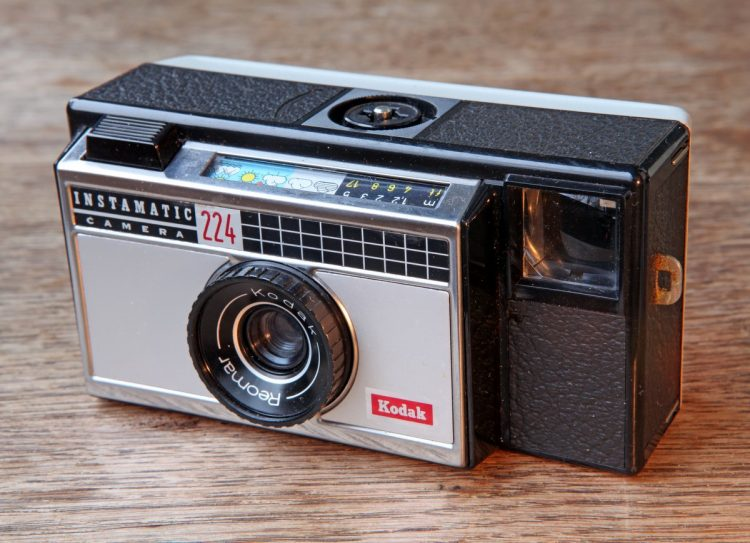 Vintage Kodak Instamatic camera 224