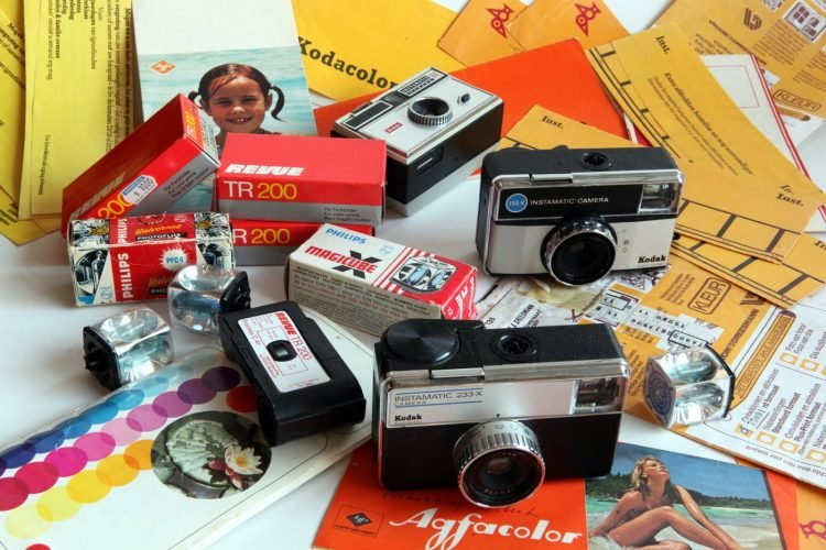 Vintage Kodak Instamatic cameras by Joost J Bakker
