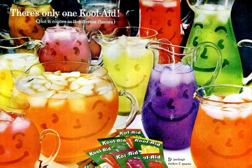 Vintage Kool-Aid soft drink powder