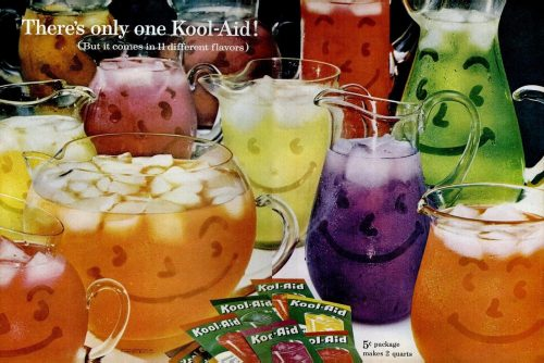 Vintage Kool-Aid soft drink powder