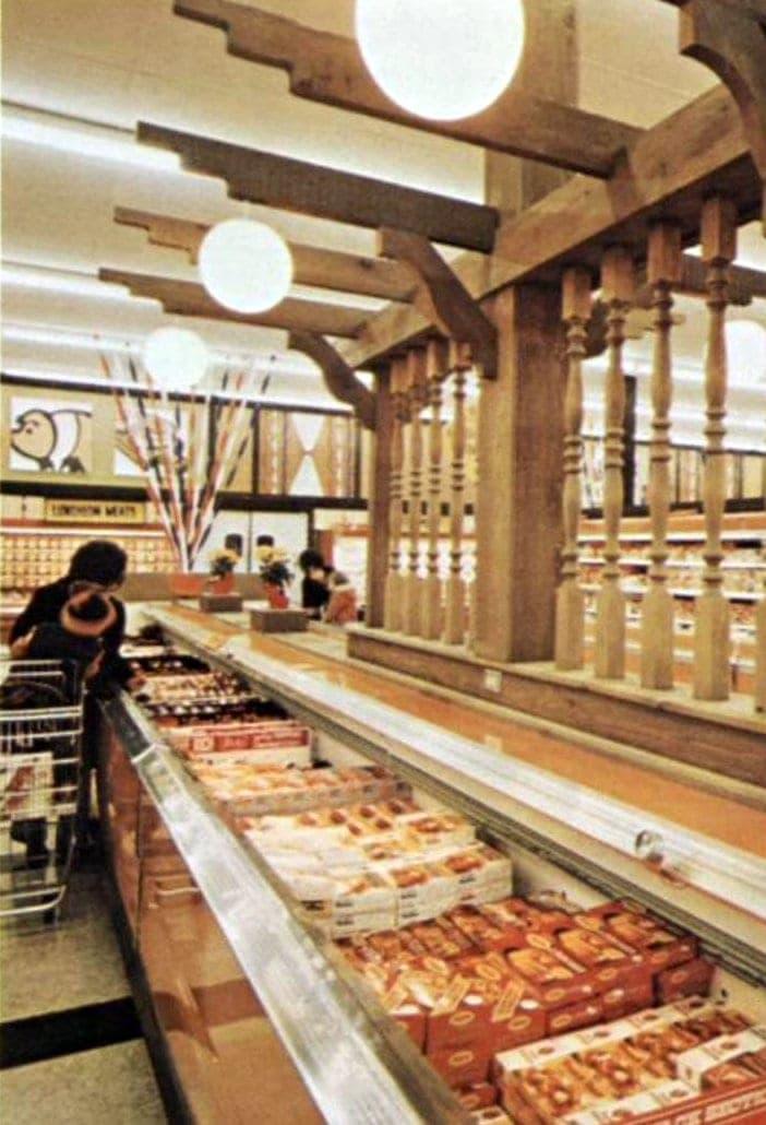Vintage Kroger grocery store - 1973 - 6