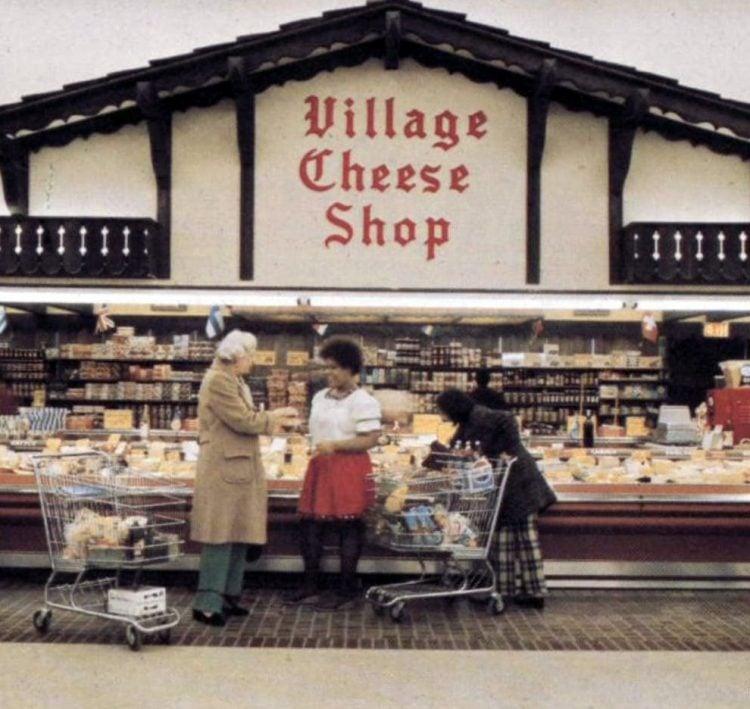 Vintage Kroger grocery store - 1973 - 8-002
