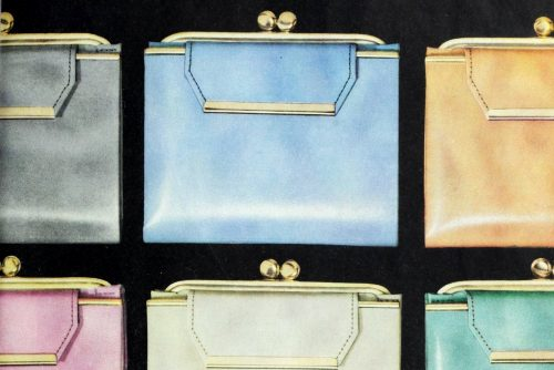 Vintage Lady Buxton wallets from the 1950s 1960s Coin purses and billfolds