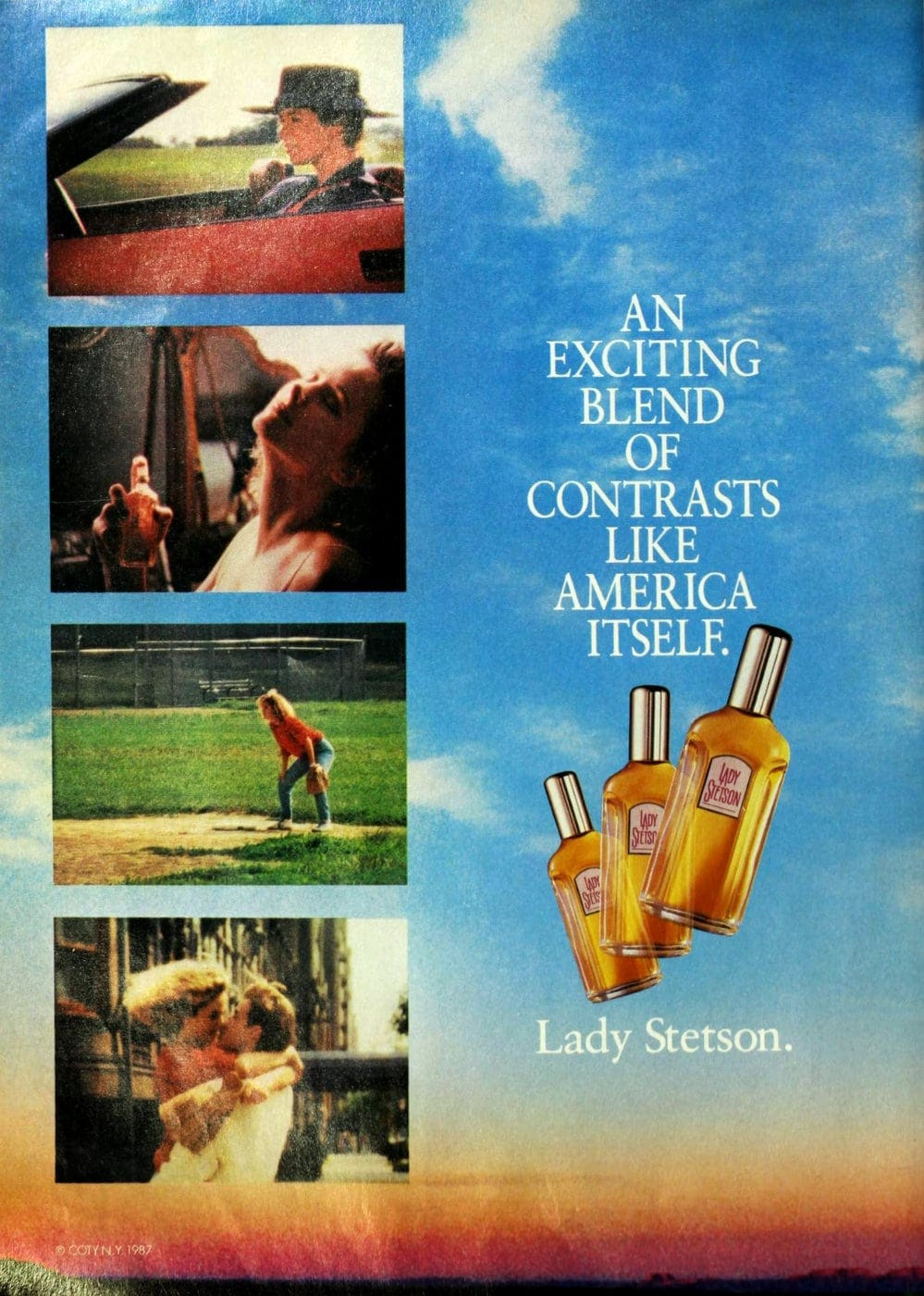 Vintage Lady Stetson perfume from 1987
