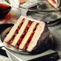 Vintage Lane cake recipe (1978)