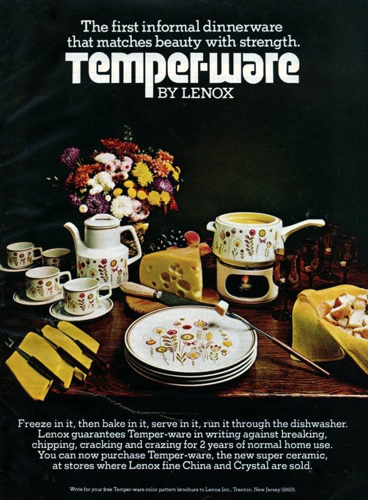 Vintage Lenox Temper-ware Sprite Design 1974