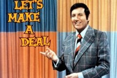 Monty Hall Let's Make a Deal TV show 1975