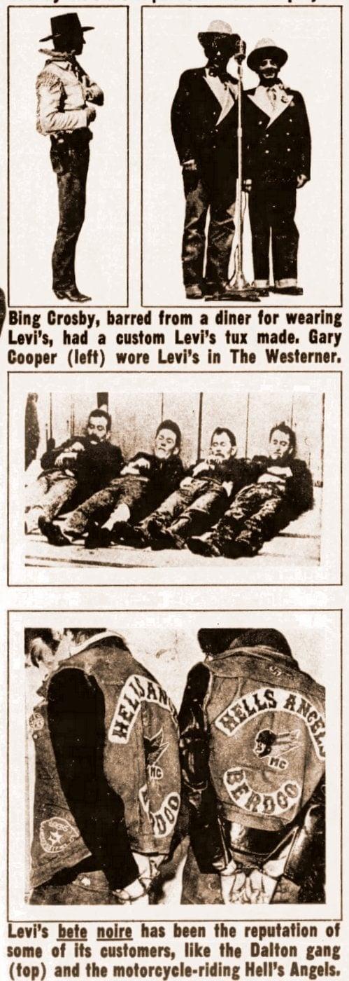 Vintage Levi's company background info (1)