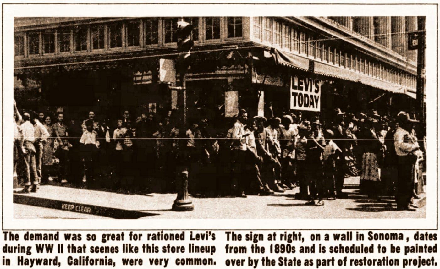 Vintage Levi's company background info (3)
