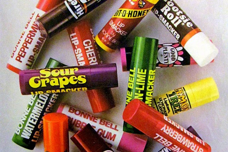 Vintage Lip Smackers from Bonne Bell