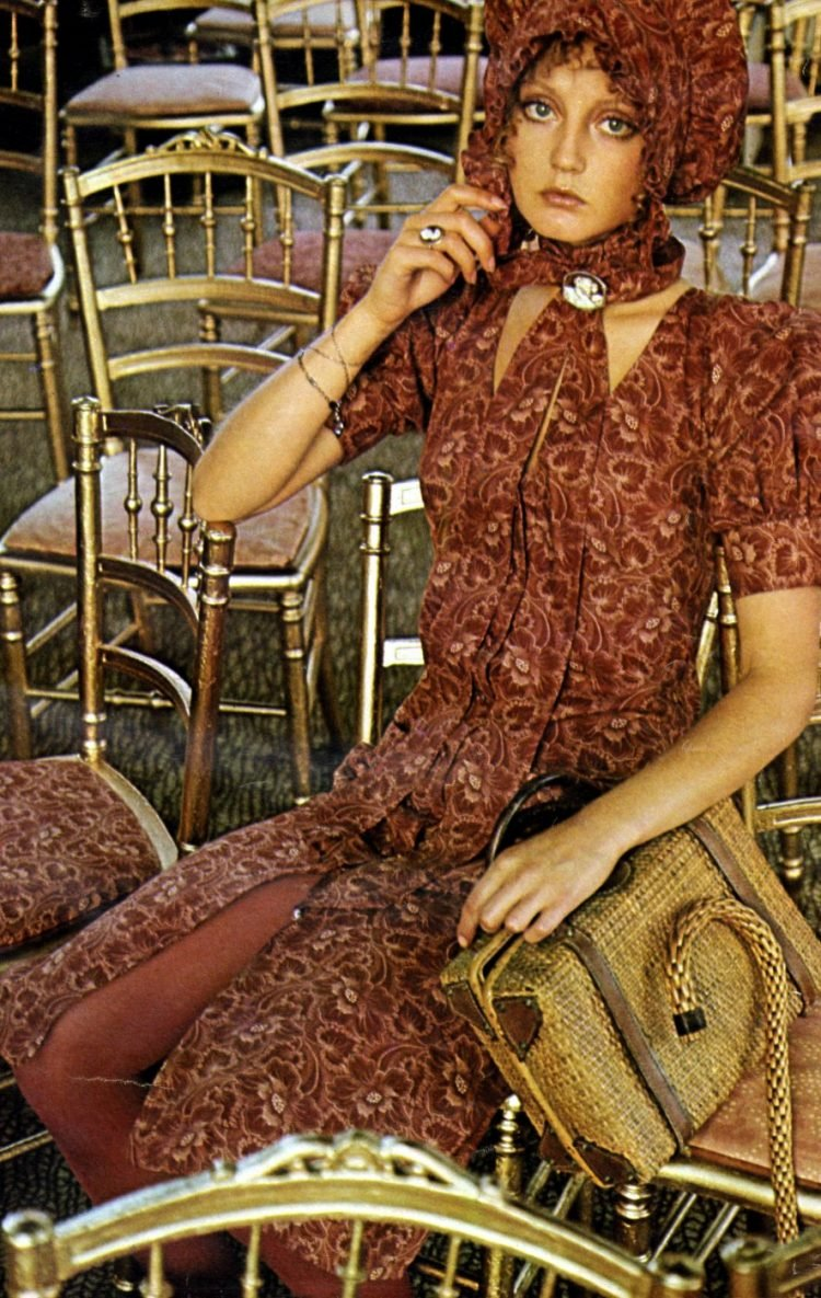 Vintage London Biba Boutique fashion from 1971 (5)