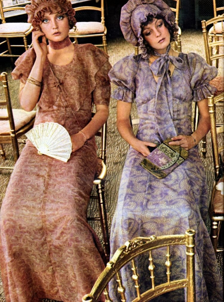 Vintage London Biba Boutique fashion from 1971 (6)