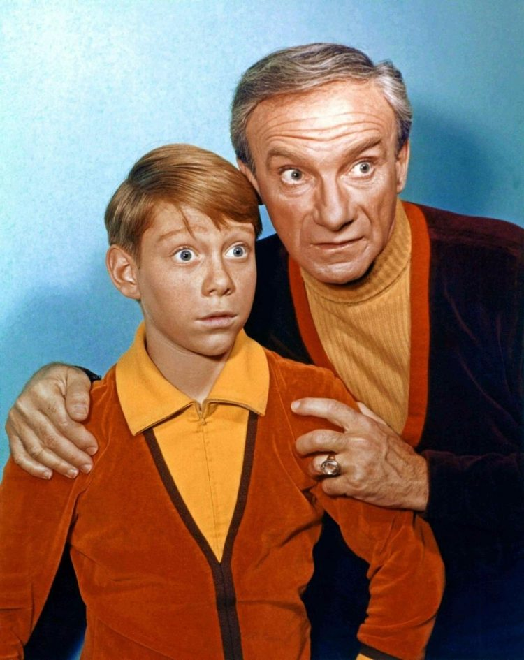 Vintage Lost In Space - Will Robinson and Dr Smith