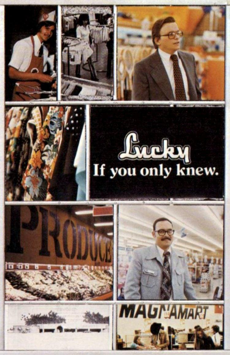 Vintage Lucky supermarket - 1975 - 9-001