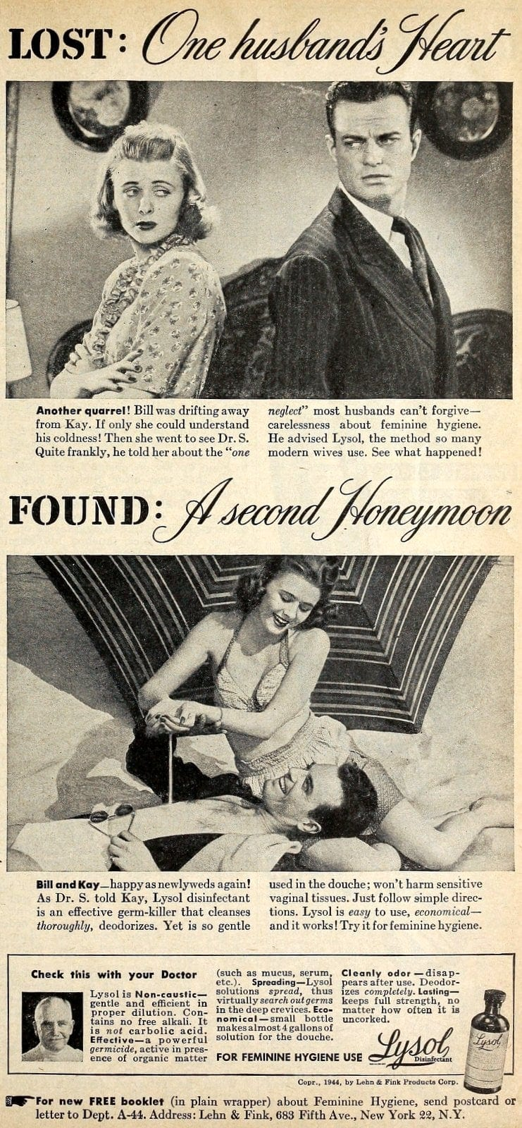 Vintage Lysol douche ads from the 1950s (5)