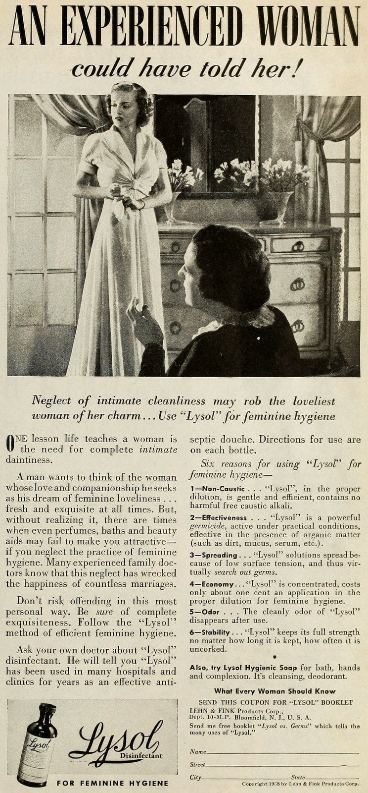 Vintage Lysol douche ads from the 1950s (7)