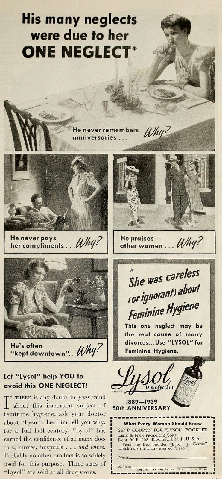 Vintage Lysol douche ads from the 1950s (8)