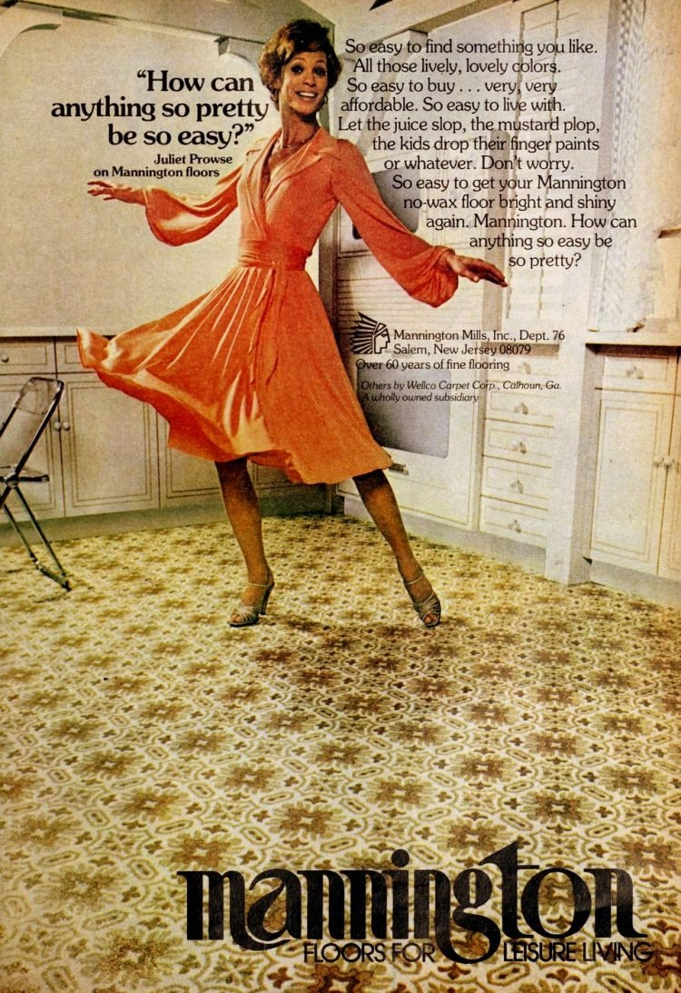 Vintage Mannington kitchen vinyl flooring from 70s and 80s - From ClickAmericana com (6)