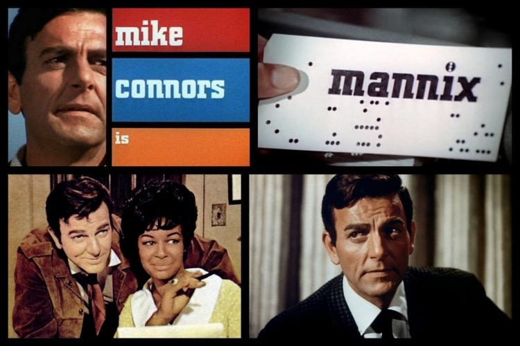 Vintage Mannix TV show from the 70s