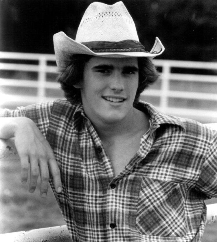 Vintage Matt Dillon photo from movie Tex 1983