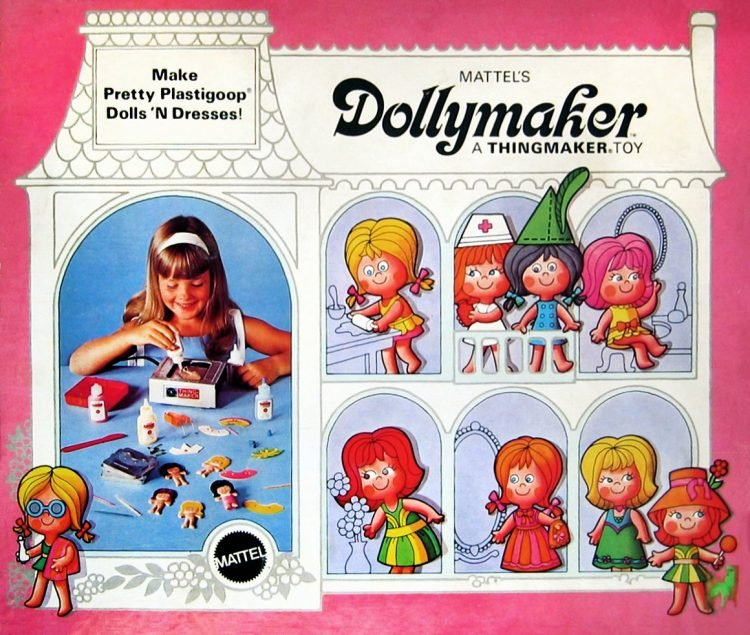 Vintage Mattel Thingmaker Dollymaker toy