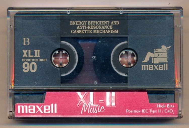 Vintage Maxell cassette tapes (1)