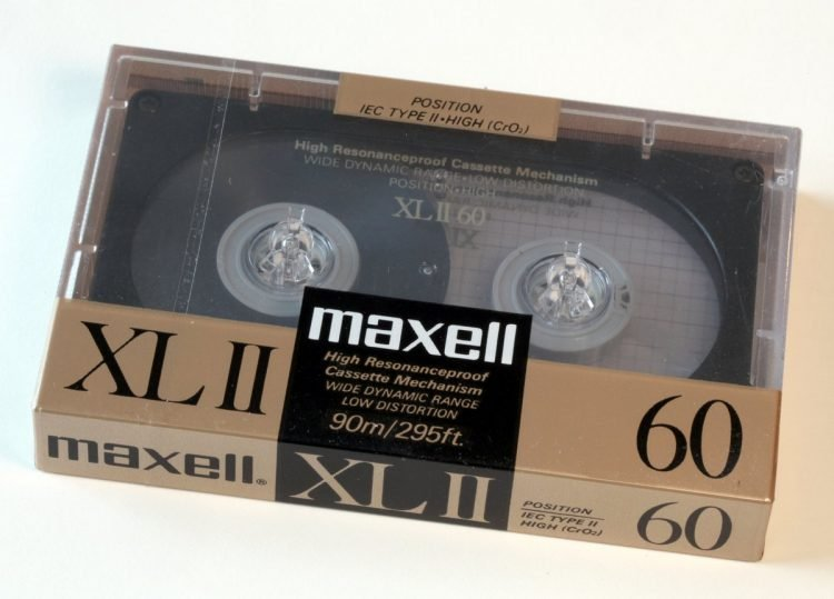 Vintage Maxell cassette tapes (2)