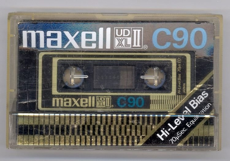 Vintage Maxell cassette tapes (3)